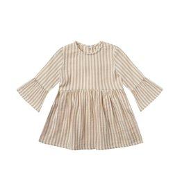 Rylee + Cru Rylee + Cru   Bel Dress Almond Stripe