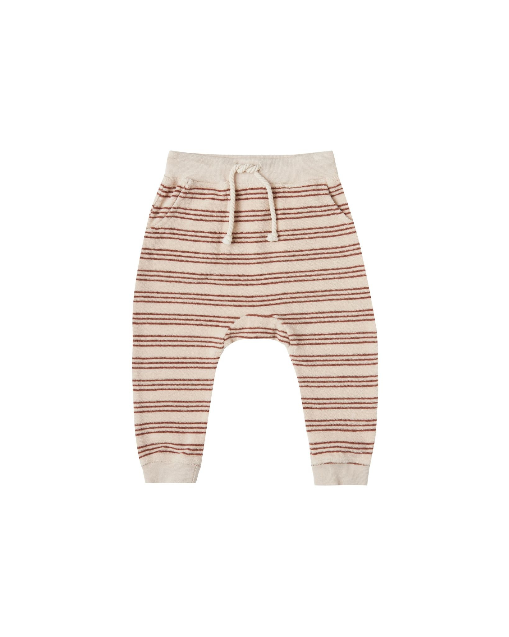 Rylee + Cru Rylee + Cru | Terry Sweatpant Striped