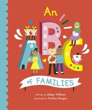Quarto An ABC of Families   Board Book