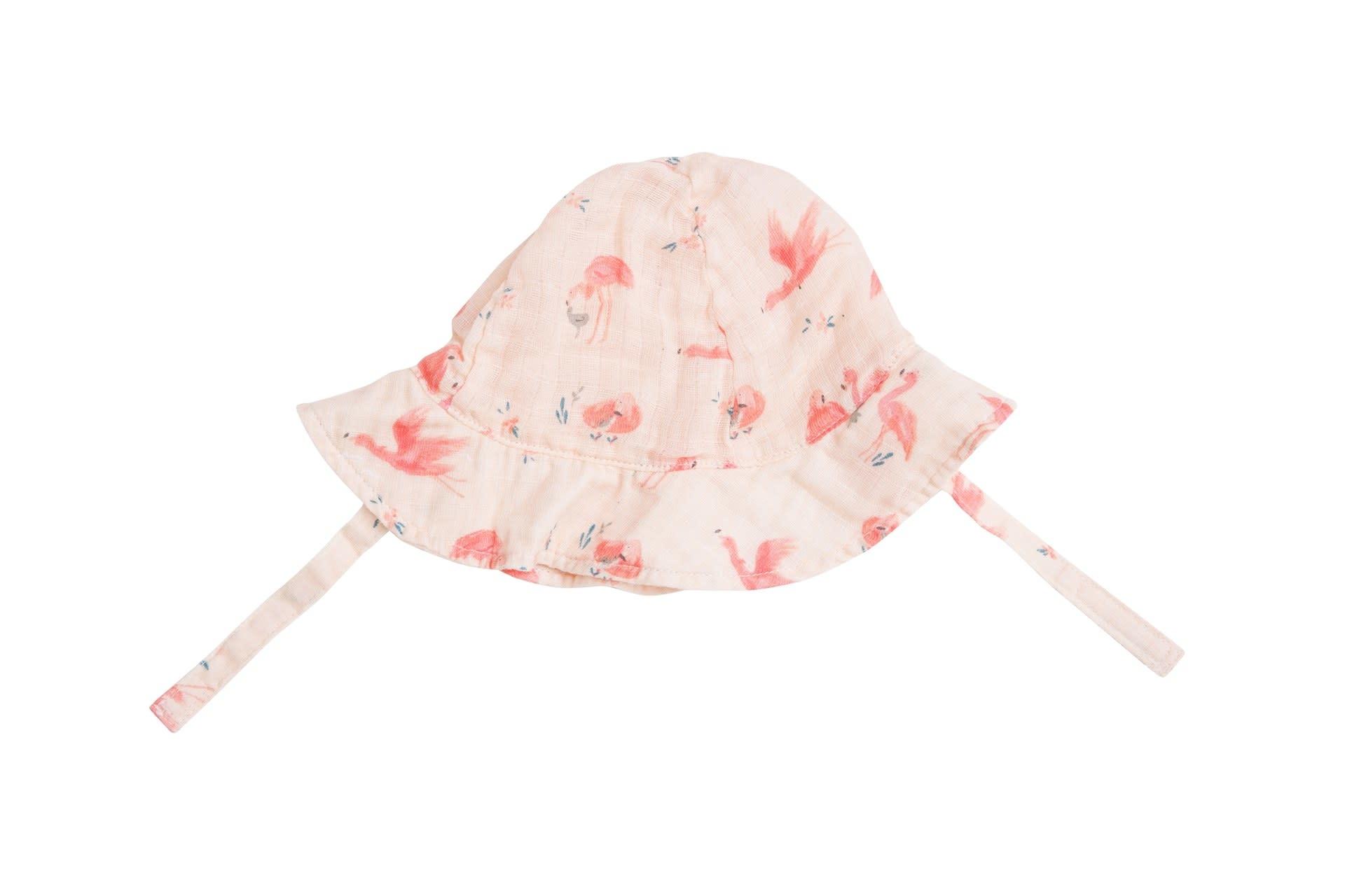 Angel Dear Angel Dear | Muslin Flamingo Sunhat Pink