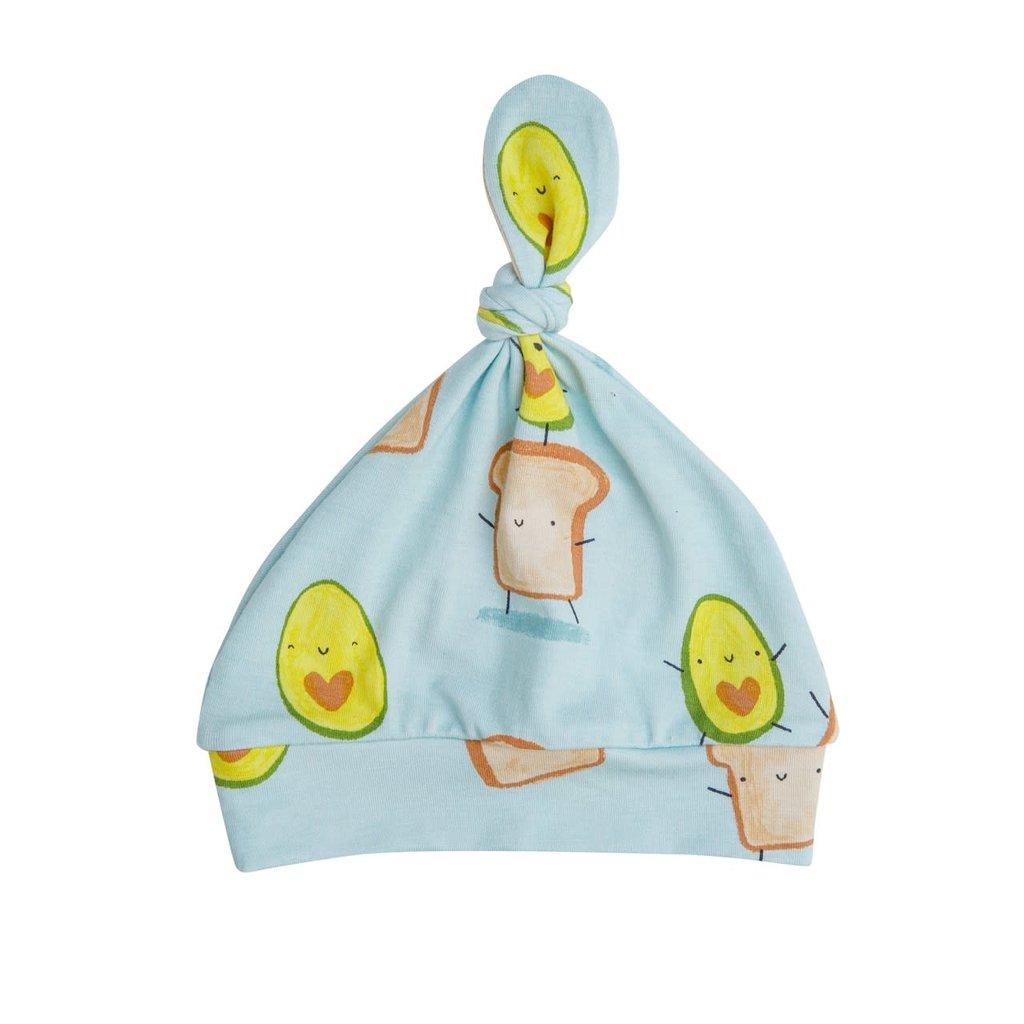 Angel Dear Angel Dear | Avocado + Toast Knotted Hat 0-3 Mos