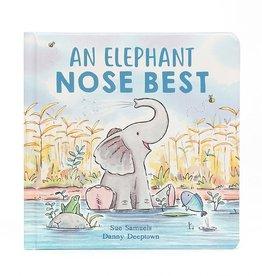 JellyCat Jellycat | An Elephant Nose Best Book