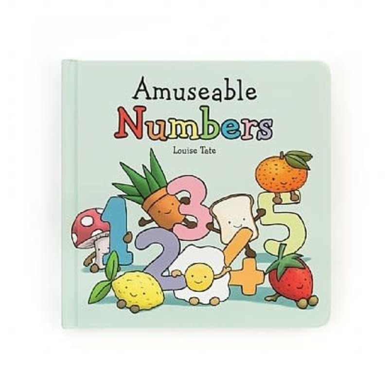 JellyCat Amuseable Numbers | Board Book