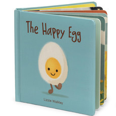 JellyCat The Happy Egg | Book