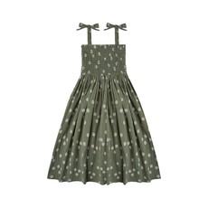 Rylee + Cru Rylee + Cru | Daisy Ivy Smocked Dress Fern