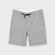 Mayoral Mayoral   Navy Stripe Cotton Short