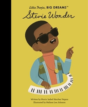 Quarto Little People, Big Dreams | Stevie Wonder