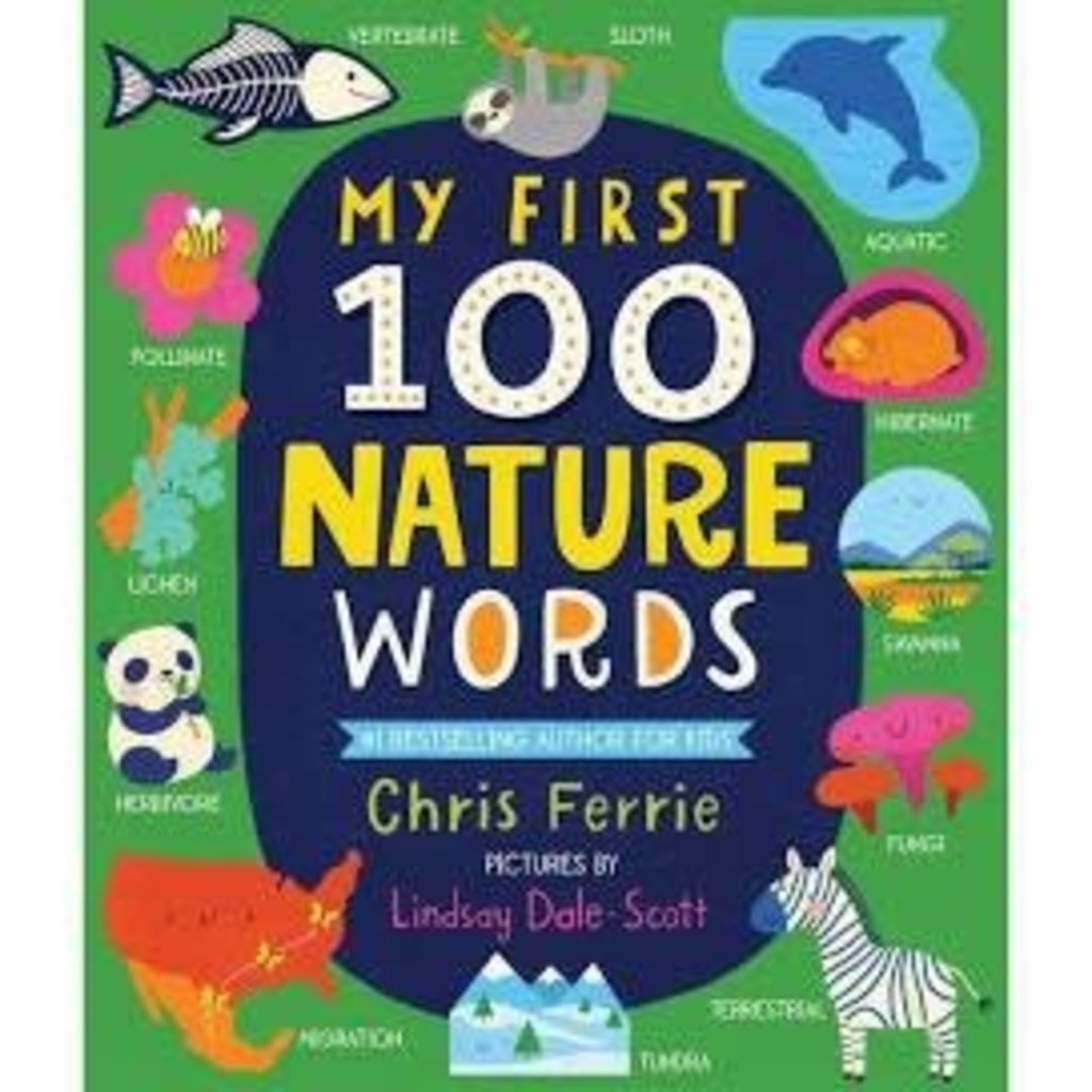 My First 100 Nature Words   Board Book