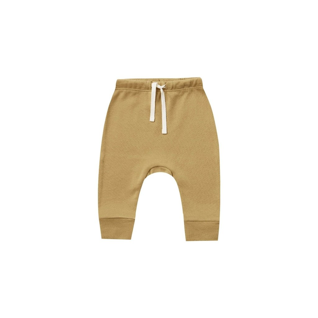 Quincy Mae Quincy Mae | Drawstring Pant Gold