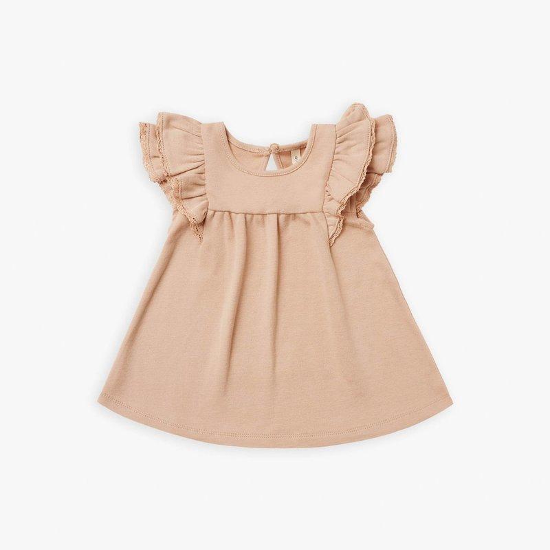 Quincy Mae Quincy Mae | Flutter Dress Petal