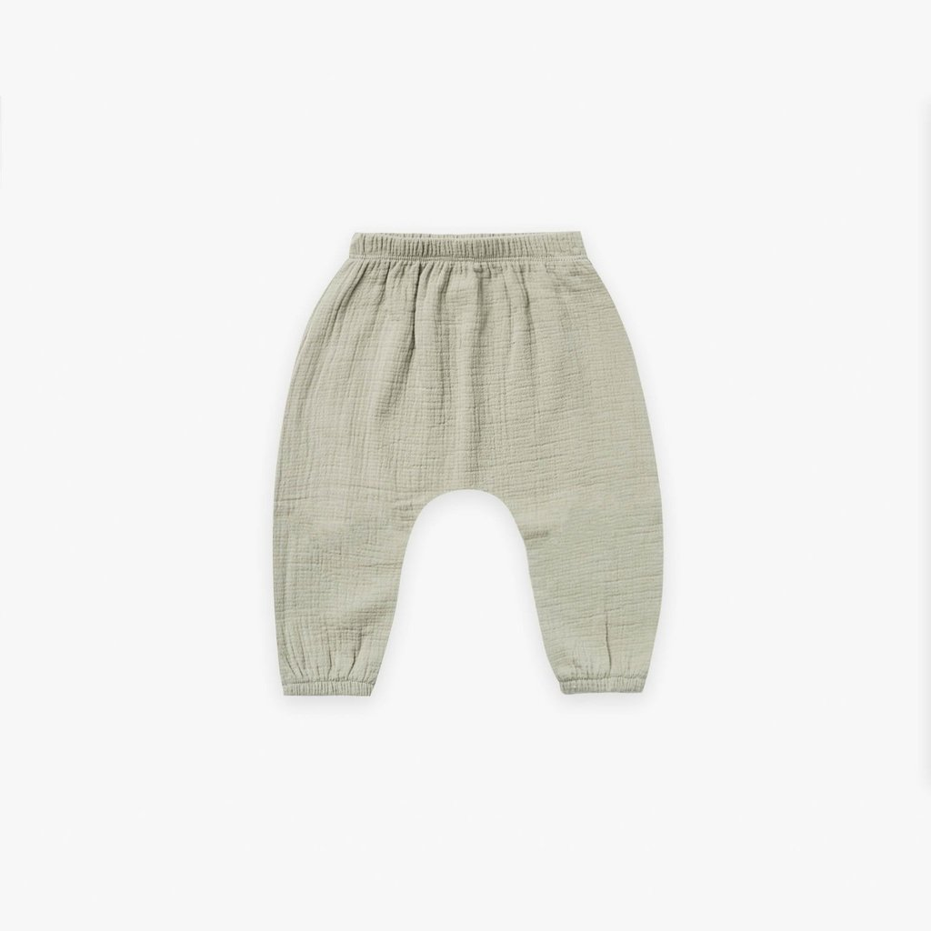 Quincy Mae Quincy Mae   Woven Harem Pant Sage