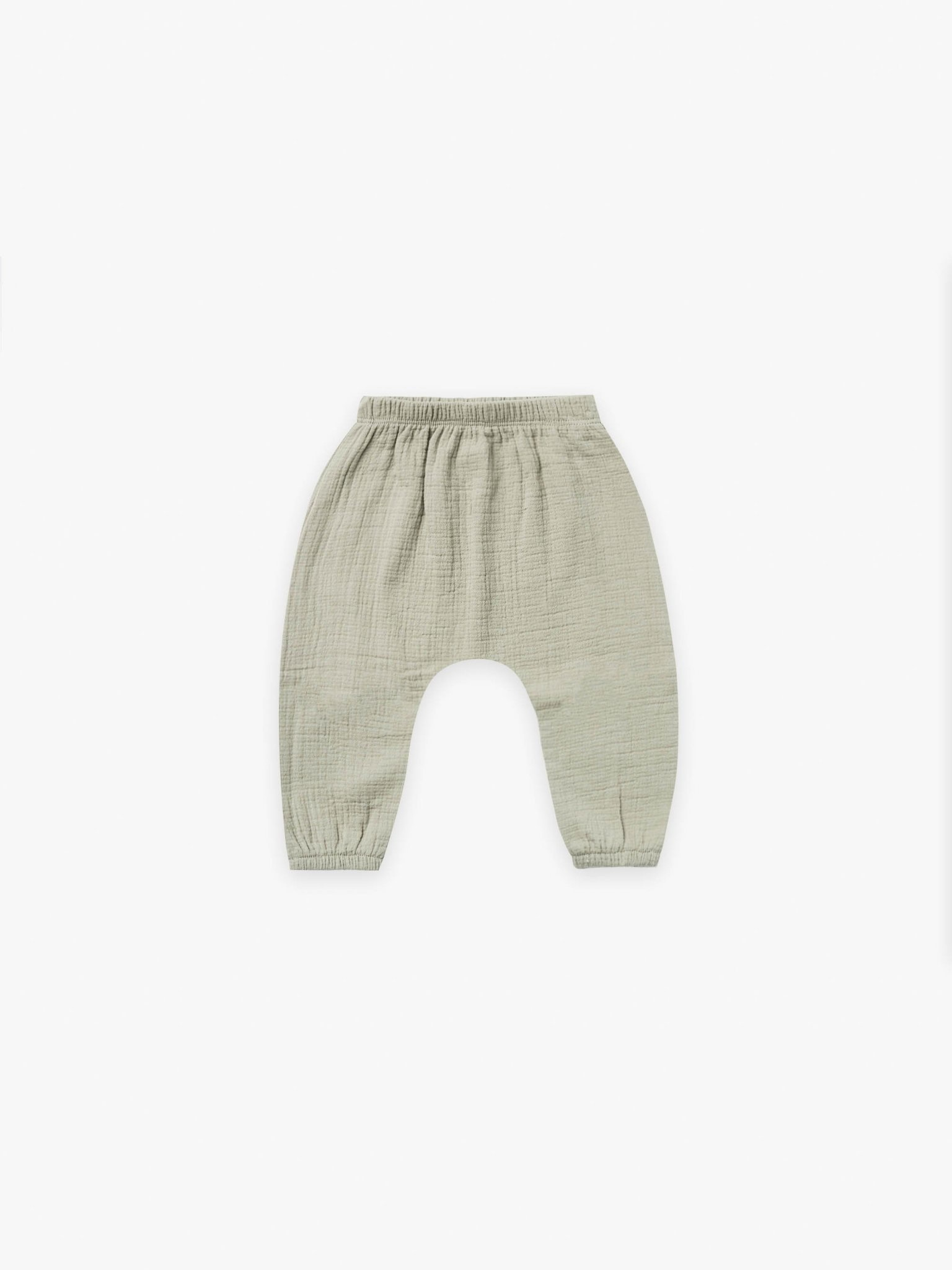 Quincy Mae Quincy Mae | Woven Harem Pant Sage
