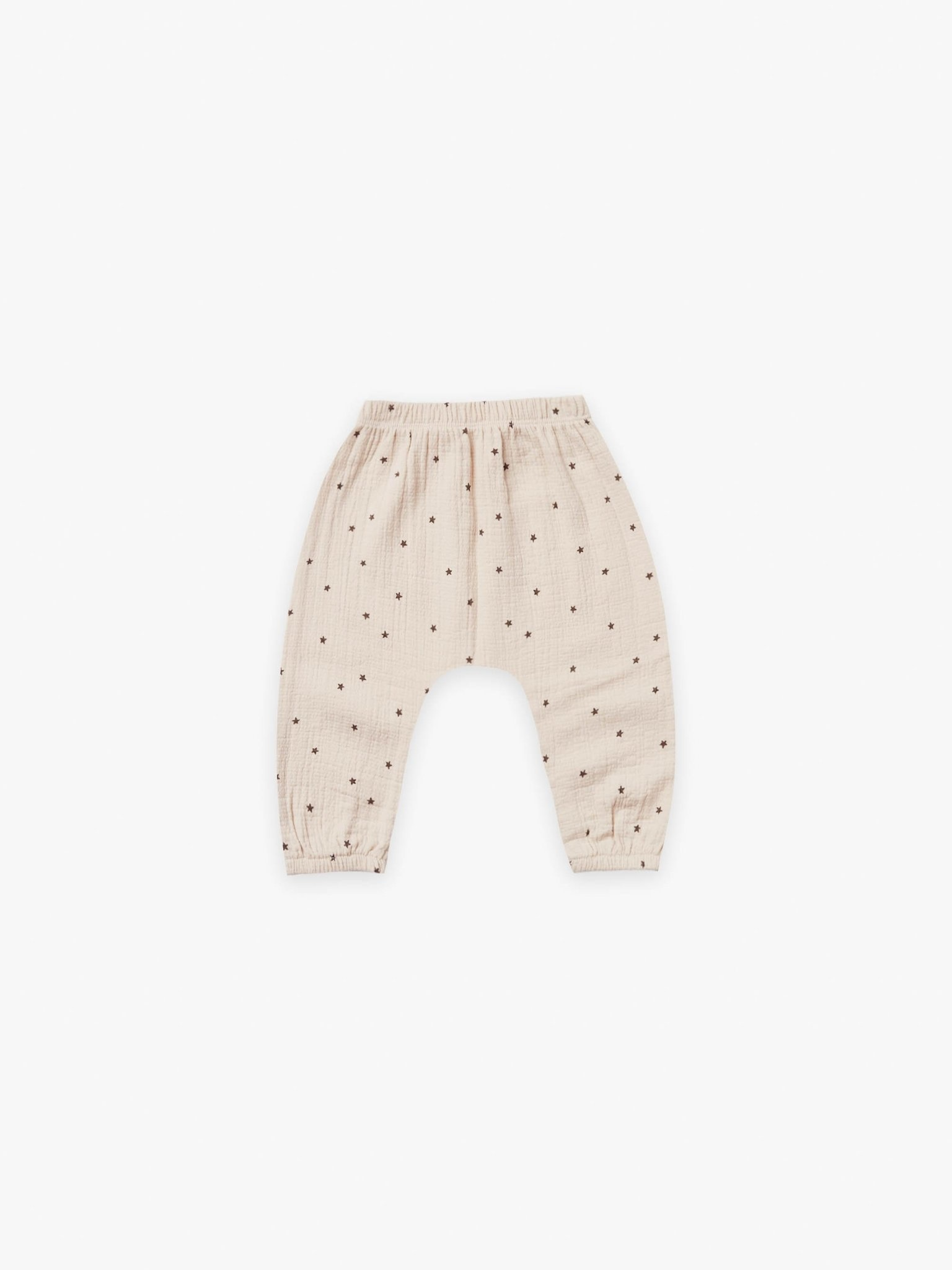 Quincy Mae Quincy Mae | Woven Harem Pant Natural