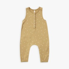 Quincy Mae Quincy Mae | Sleeveless Jumpsuit Gold