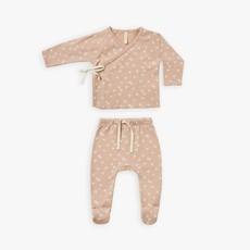 Quincy Mae Quincy Mae   Wrap Top + Pant Set Blossom Petal