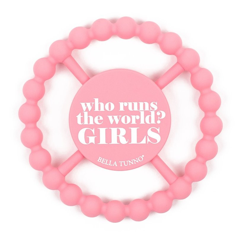 Bella Tunno Bella Tunno Happy Teether | Who Run the World? GIRLS