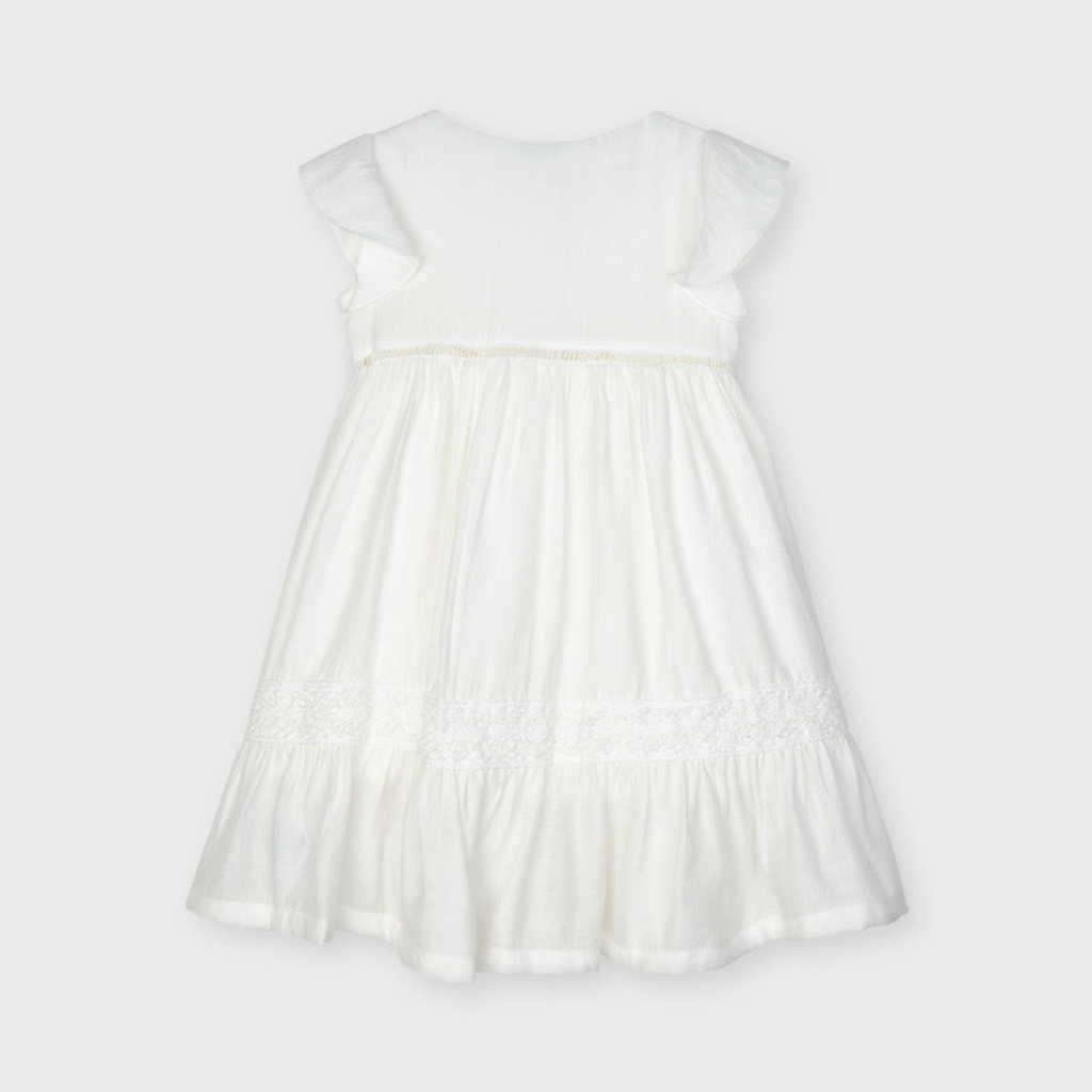 Mayoral Mayoral | Button Front Dress Natural