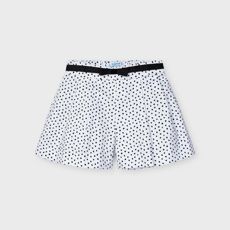 Mayoral Mayoral   Polka Dot Shorts and Belt