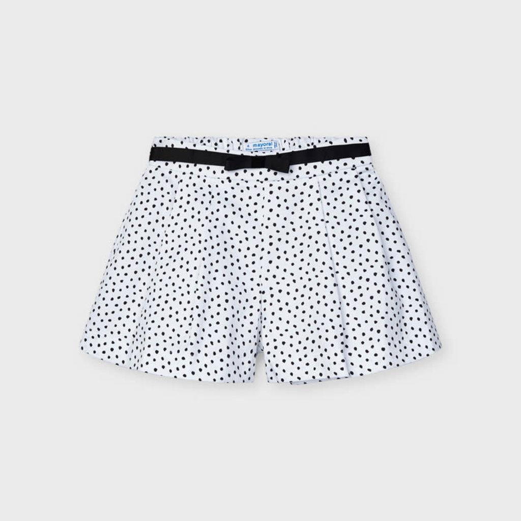 Mayoral Mayoral | Polka Dot Shorts and Belt
