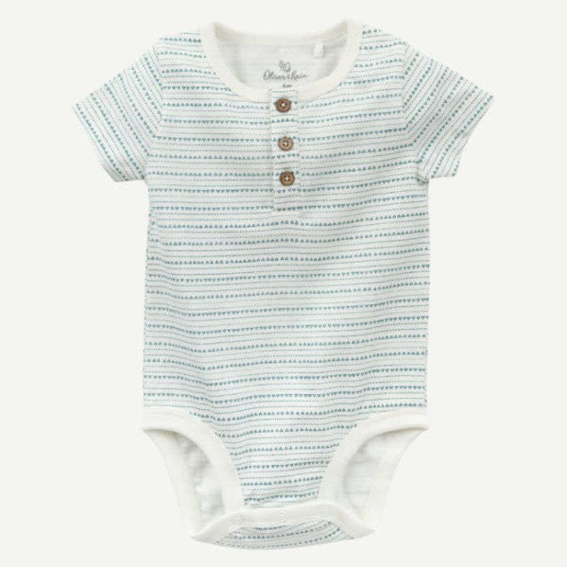 Oliver & Rain Oliver & Rain | Organic Cotton Geo Print Bodysuit