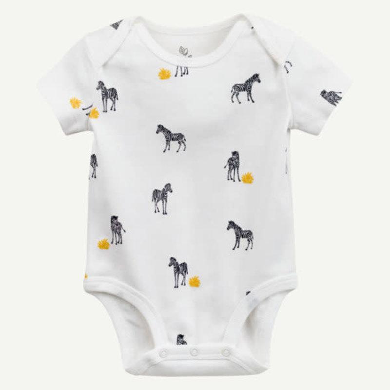 Oliver & Rain Oliver & Rain | Zebra Print Bodysuit