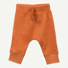 Oliver & Rain Oliver & Rain | Organic Cotton Rib Pant Burnt Orange