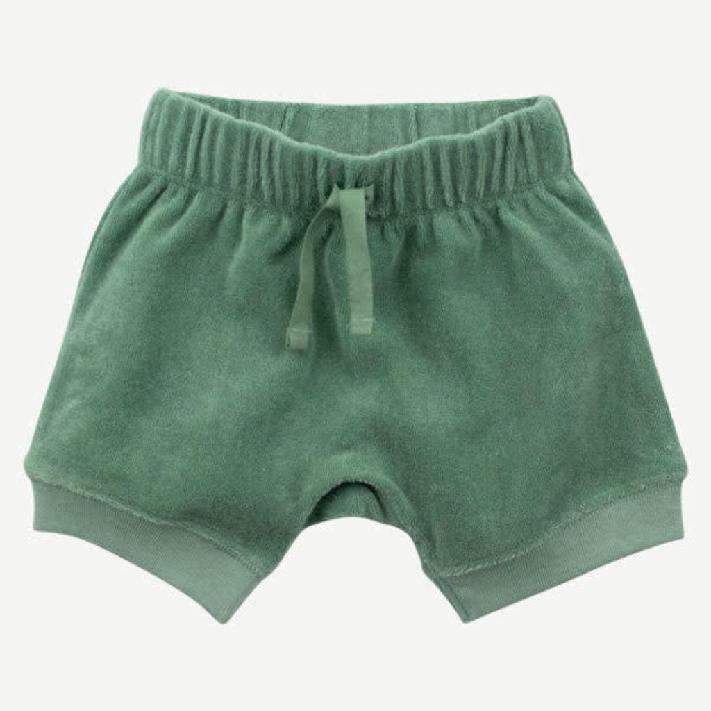 Oliver & Rain Oliver & Rain | Organic Cotton Terry Short Moss