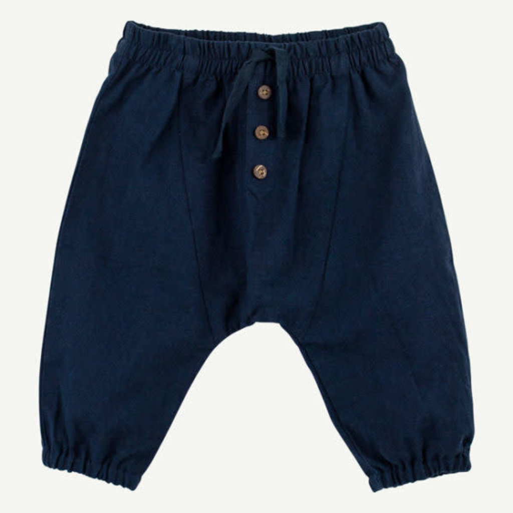 Oliver & Rain Oliver & Rain | Organic Woven Pant Navy