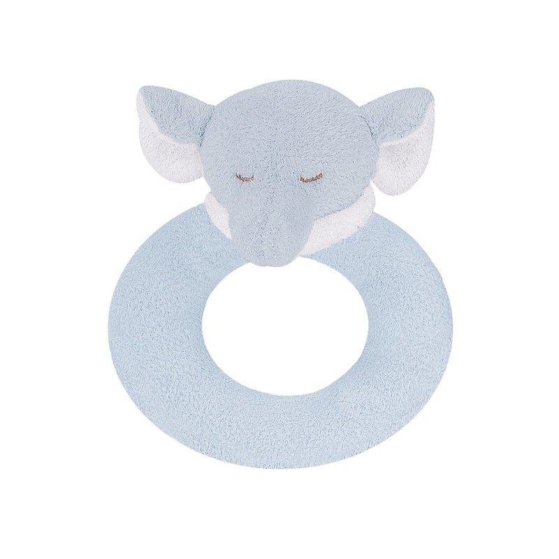 Angel Dear Angel Dear Ring Rattle | Blue Elephant