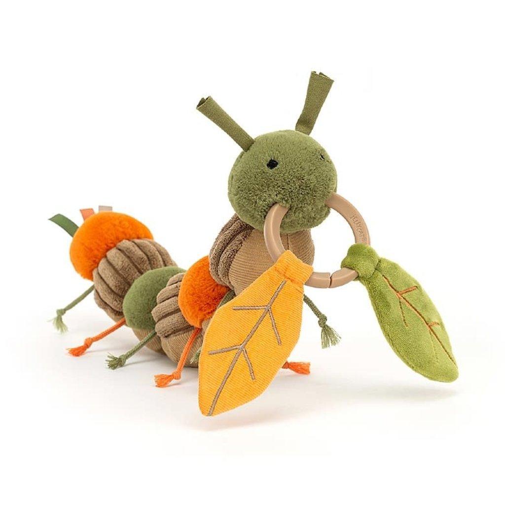 JellyCat Jellycat   Christopher Caterpillar Activity Toy