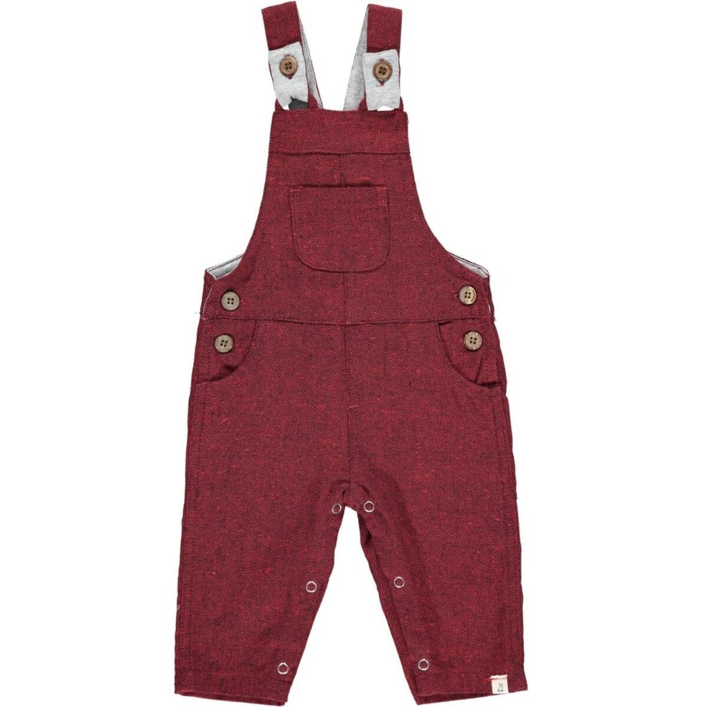 Me & Henry Me & Henry   Woven Overalls Wine