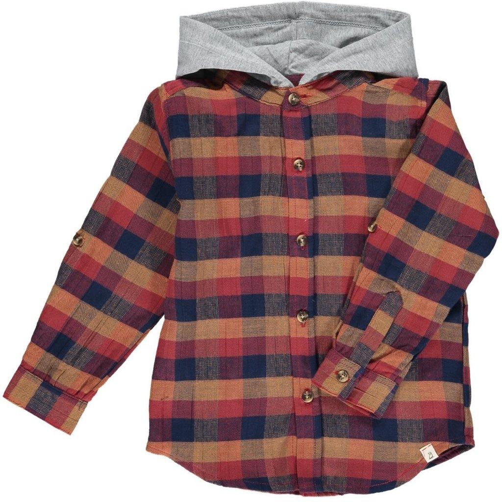 Me & Henry Me & Henry | Dyer Hooded Woven Shirt