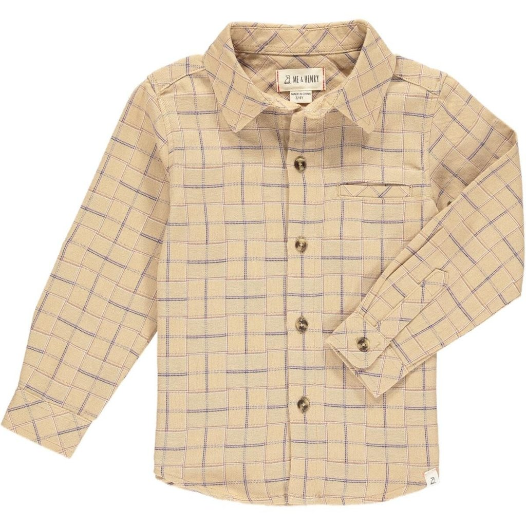Me & Henry Me & Henry | Atwood Woven Plaid Shirt