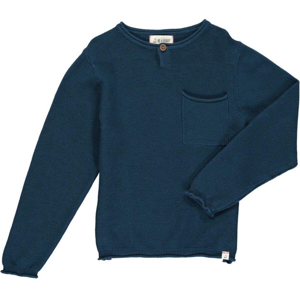 Me & Henry Me & Henry | Dayton Sweater Blue