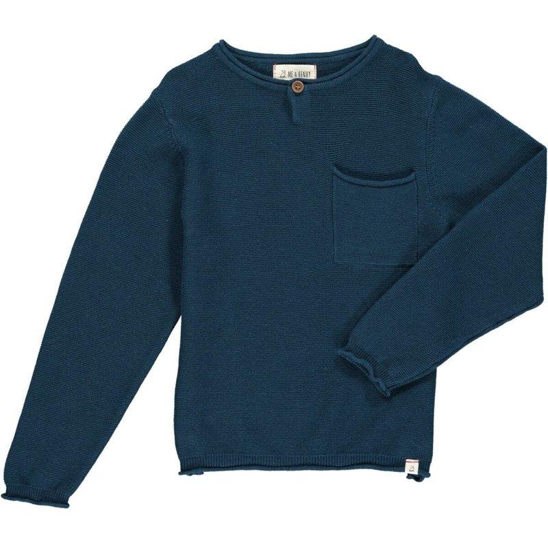 Me & Henry Me & Henry   Dayton Sweater Blue