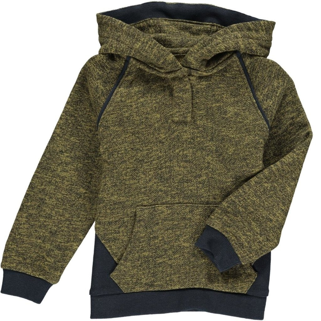 Me & Henry Me & Henry   James Hooded Sweater Gold/Black Heather