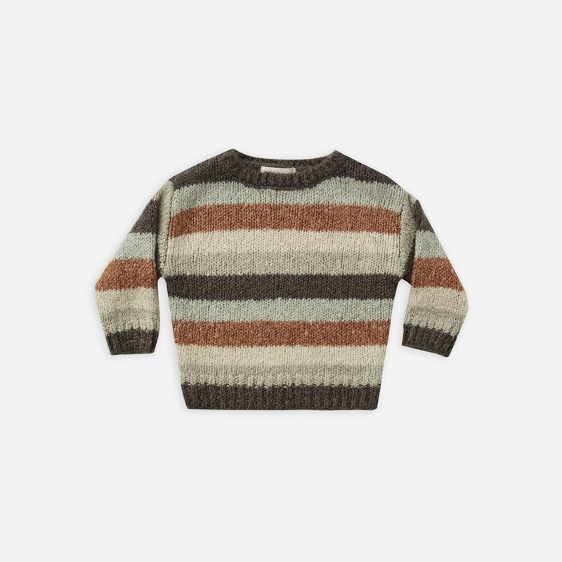 Rylee + Cru Rylee + Cru   Aspen Sweater Multi-Stripe