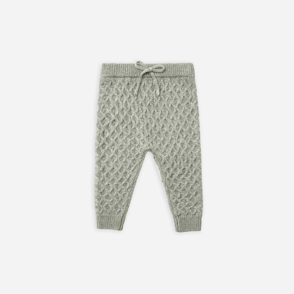 Rylee + Cru Rylee + Cru   Knit Gable Pant Agave