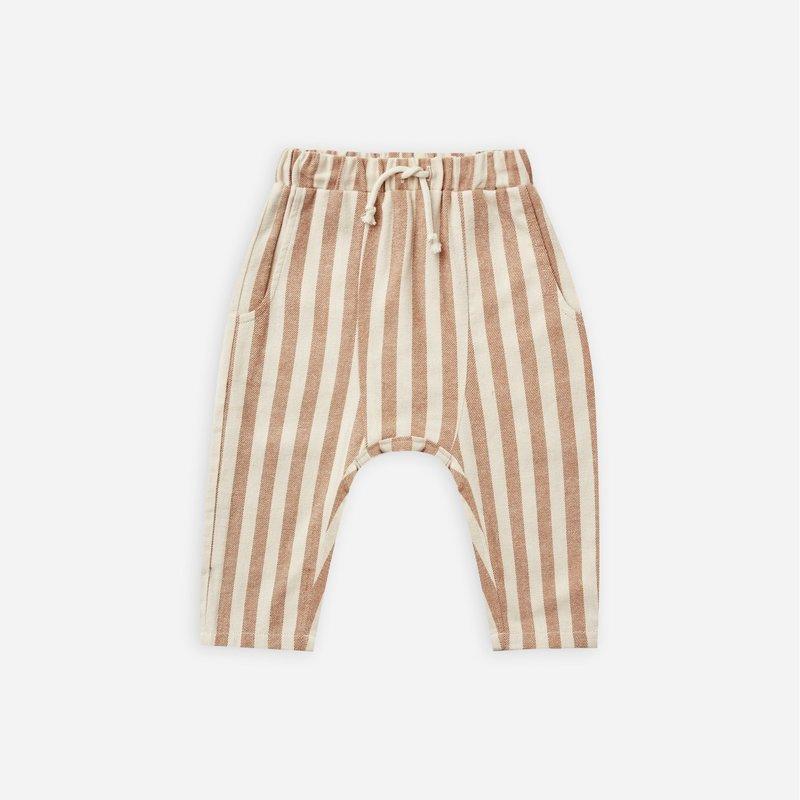 Rylee + Cru Rylee + Cru   Baby Hawthorne Trouser Retro Stripe