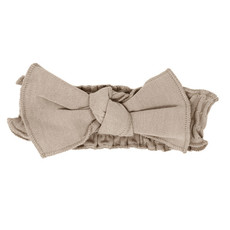 L'oved Baby L'oved Baby | Organic Cotton Smocked Headband Oatmeal