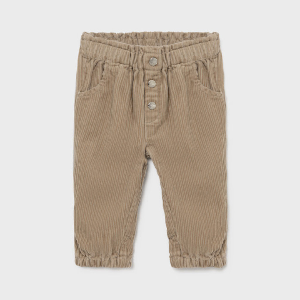 Mayoral Mayoral | Corduroy Trousers Sand