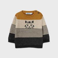 Mayoral Mayoral | Color Block Sweater Mustard