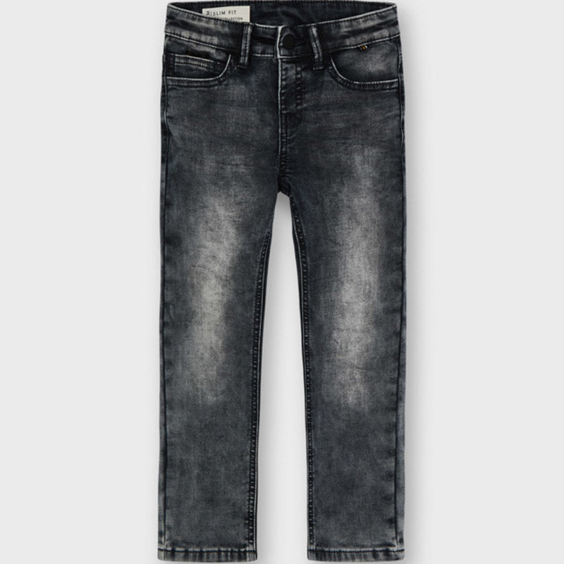 Mayoral Mayoral | Soft Denim Jeans Gray