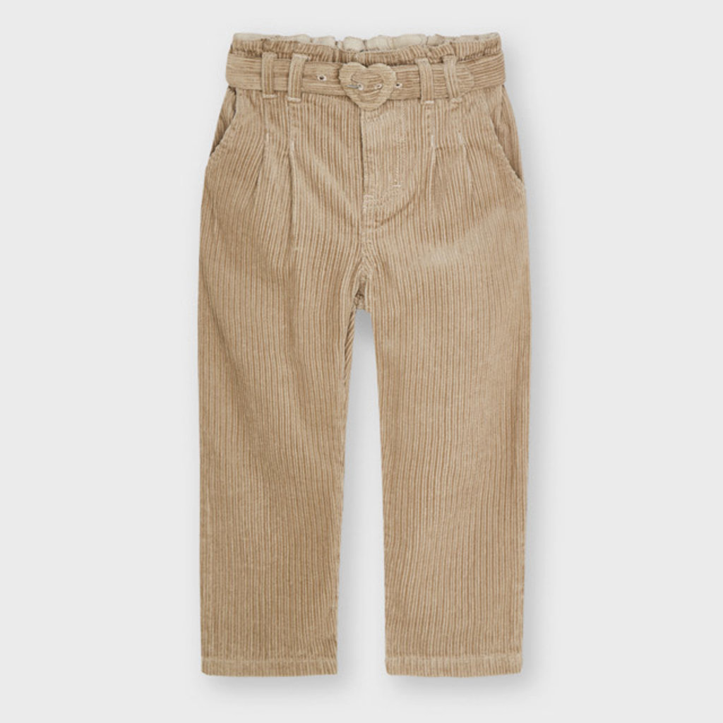 Mayoral Mayoral | Slouchy Corduroy Pants Sand