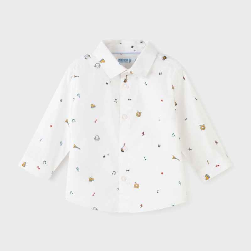 Mayoral Mayoral | Printed Button-Up
