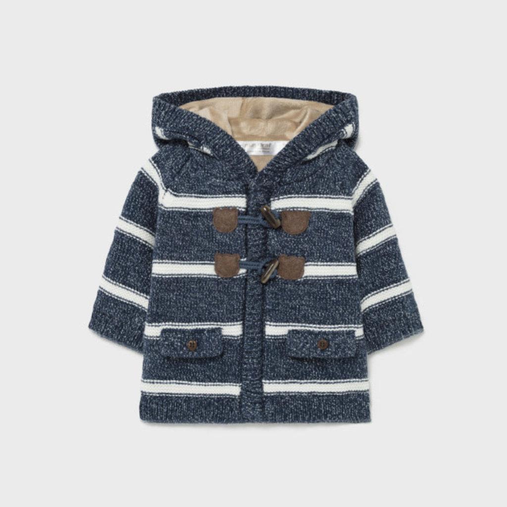 Mayoral Mayoral | Knit Jacket Navy Stripe