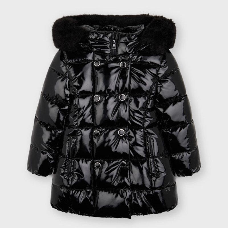 Mayoral Mayoral | Black Puffer Coat