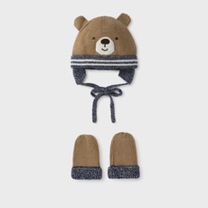 Mayoral Mayoral   Little Bear Hat and Mitten Set
