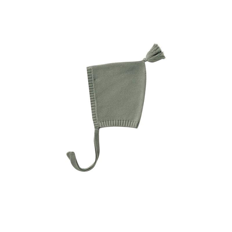 Quincy Mae Quincy Mae | Knit Pixie Bonnet Basil