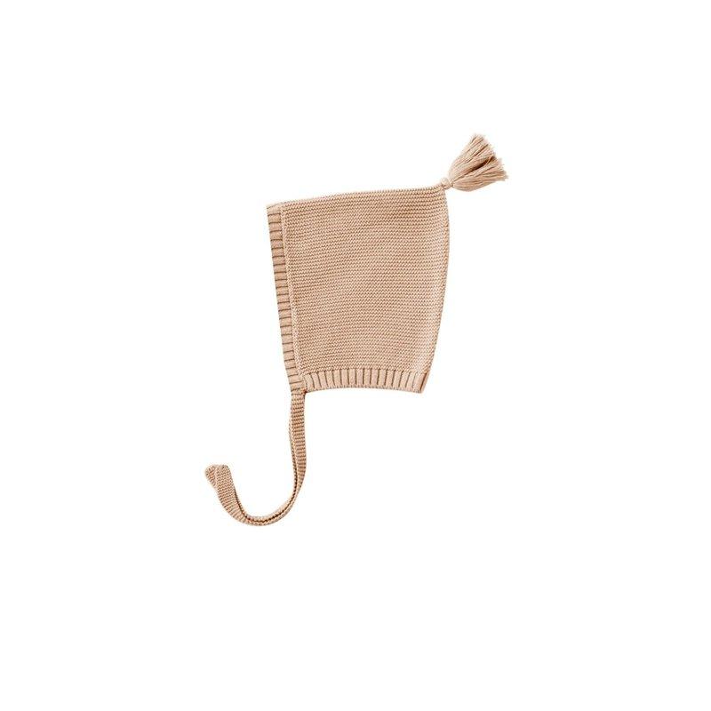 Quincy Mae Quincy Mae | Knit Pixie Bonnet Petal